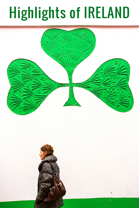 what to see in ireland, shamrock