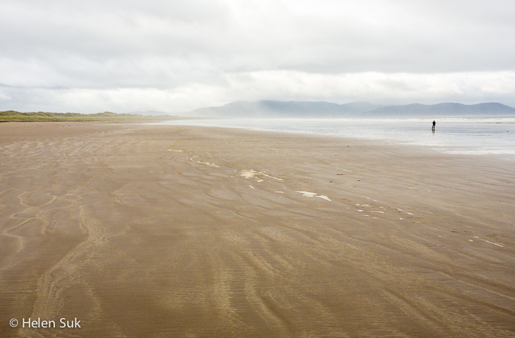 beaches in ireland, inch beach, dingle