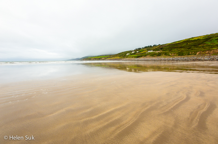 beaches in kerry, inch beach, ireland