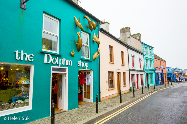 dingle, kerry, ireland, the dolphin shop