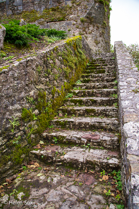 blarney castle, stairs
