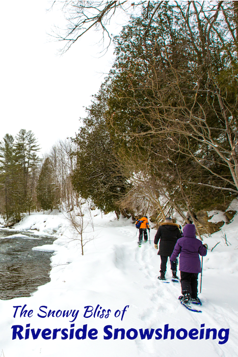 snowshoeing in haliburton ontario