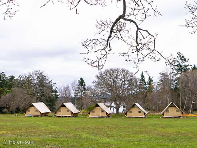 fort rodd hill otentik cabins