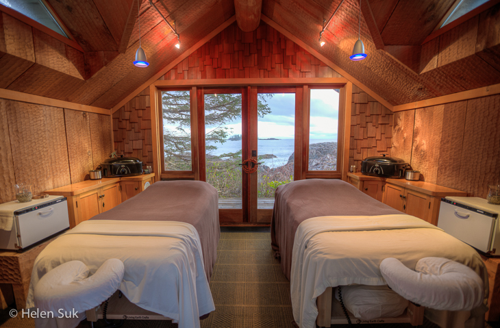 rainforest haven room at the ancient cedars spa at the wickaninnish inn
