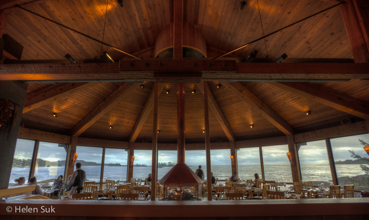 best restaurant in tofino