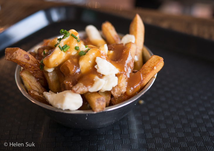 poutine at la fabrique montcalm in quebec city