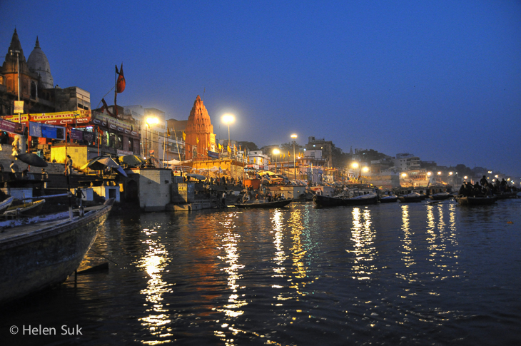 i want to travel the world varanasi india