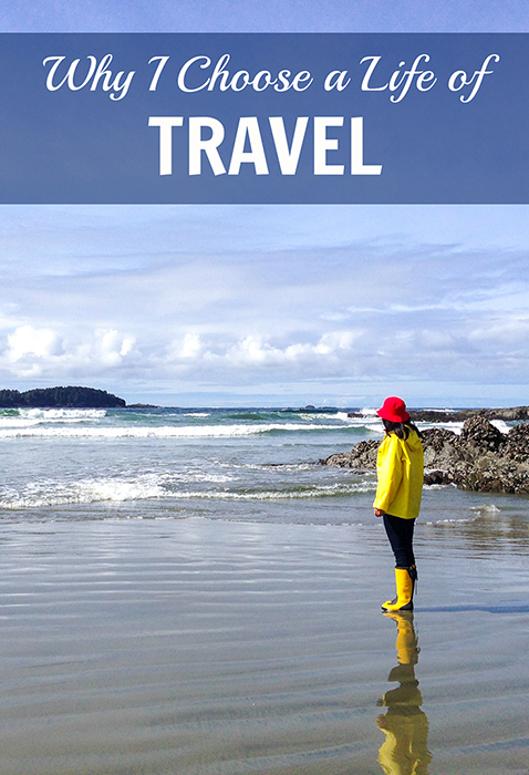 inspirational story about why i travel