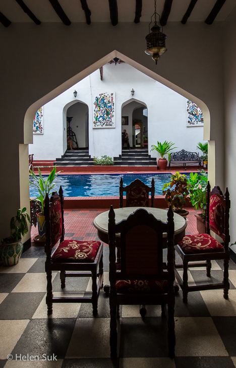 stone town hotels, dhow palace hotel