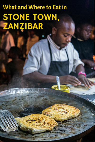 zanzibar pizza is just one of many foods to try in stone town
