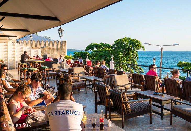 africa house hotel, stone town bars