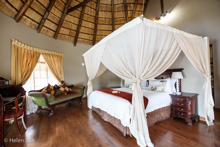 standard room at arathusa safari lodge