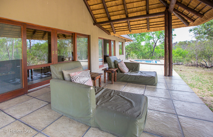 private deck at arathusa safari lodge