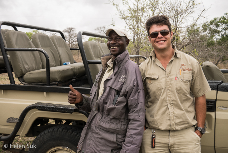 game drive staff at arathusa safari lodge