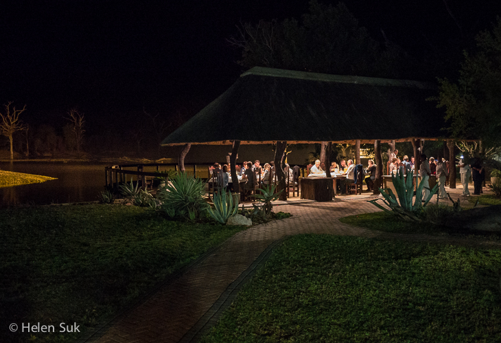 outdoor boma at arathusa safari lodge