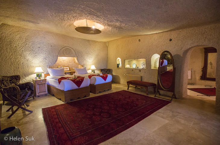 selale suite at the museum hotel cappadocia