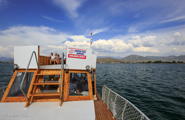 fethiye water taxi to calis beach