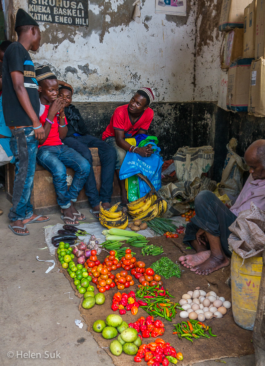images of stone town market