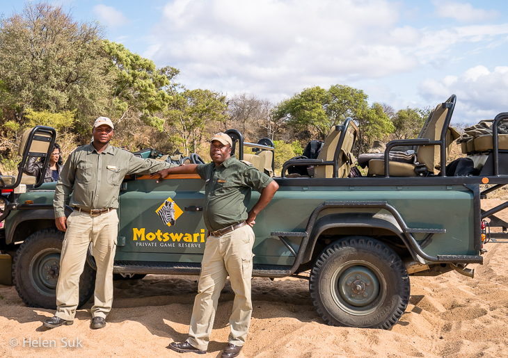 safari guide and tracker with motswari private game reserve