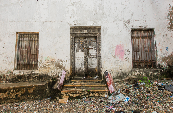stone town image of dilapidated building