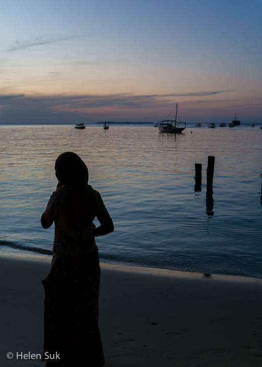 stone town zanzibar picture of waterfront at sunset