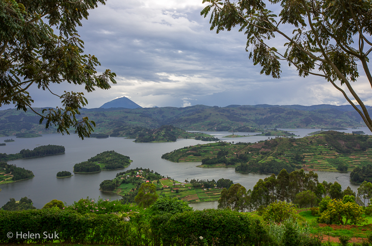 lake bunyonyi photo, uganda africa