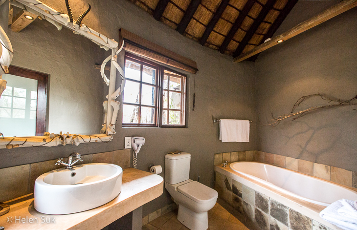 bathroom at motswari private game reserve timbavati south africa