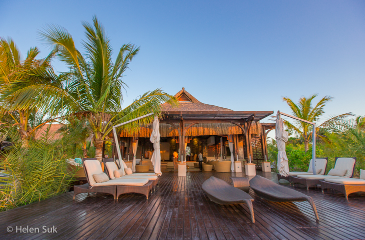 mozambique accommodation, anantara bazaruto, spa