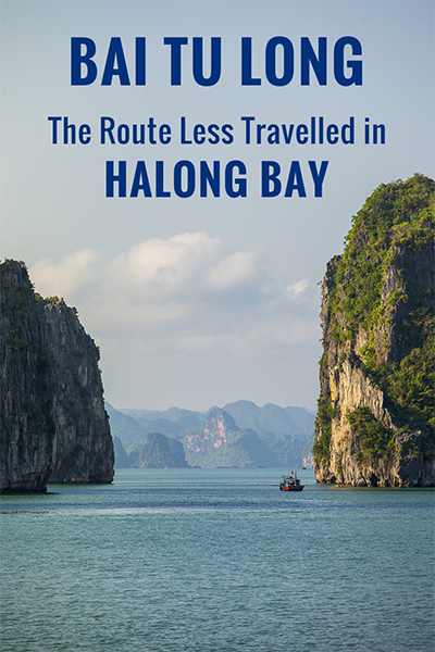bai tu long bay is the route less travelled in halong bay vietnam