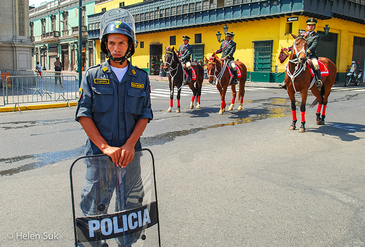 lima police