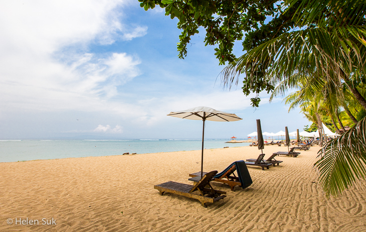 sanur beach, bali travel