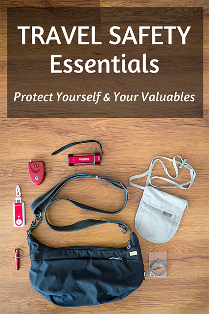 travel safety gear, travel essentials for women, travel safety