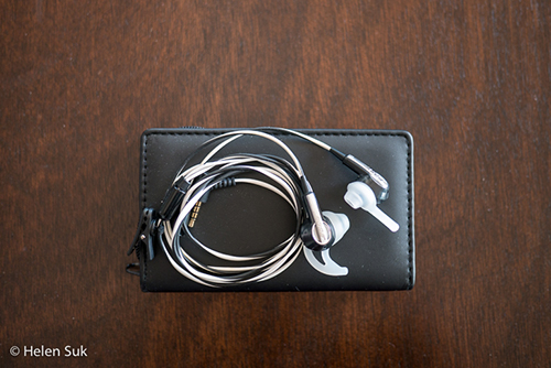bose soundtrue in-ear headphones, travel essentials