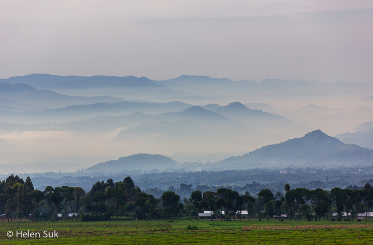 virunga mountains, volcanoes national park, rwanda