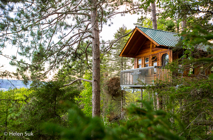 saguenay quebec treehouse