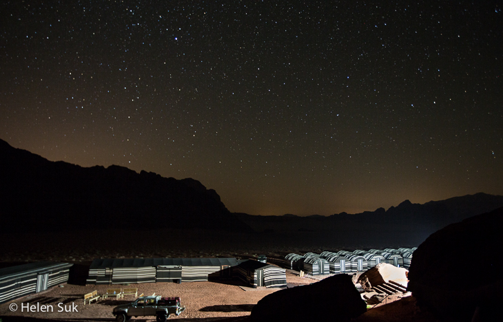 wadi rum full moon camp