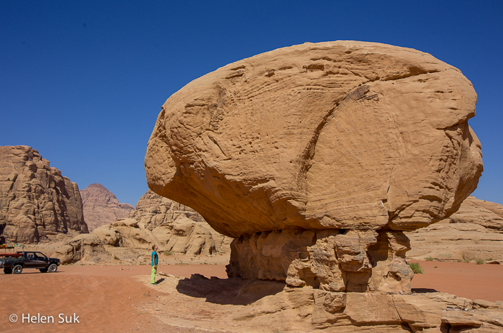 wadi rum, jordan travel