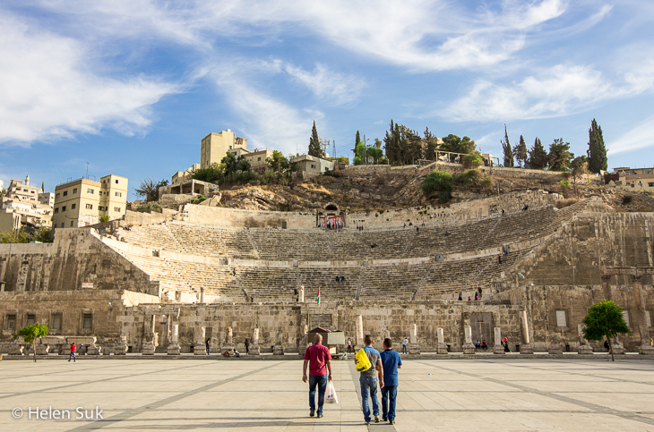 roman amphitheatre amman, what to do in amman