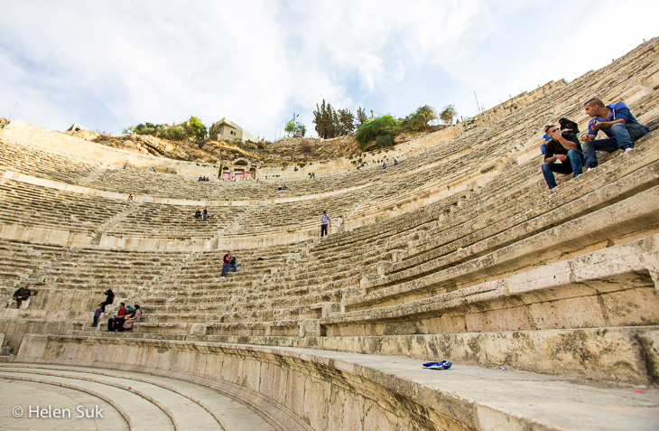 roman theatre amman, what to do in amman, jordan