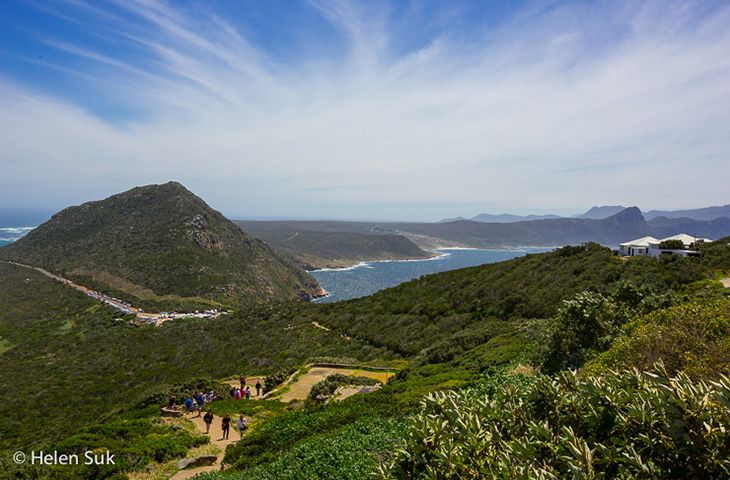 hiking trail at cape point south africa