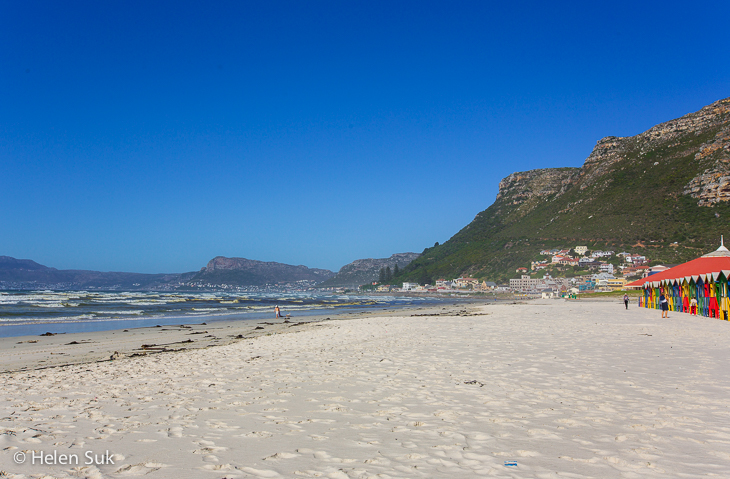 sandy muizenberg beach south africa