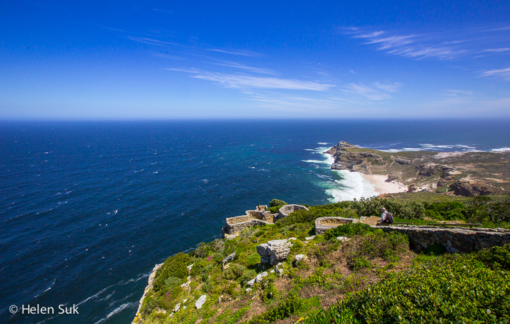 dramatic vista at the cape of good hope