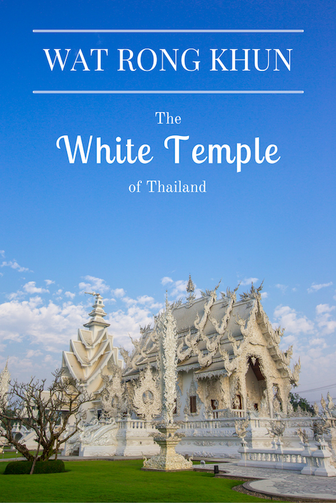 wat rong khun the white temple in thailand