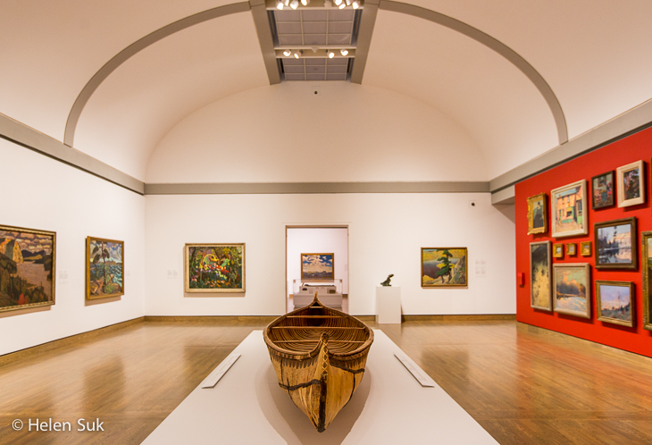 canadian and indigenous galleries in the national gallery of canada